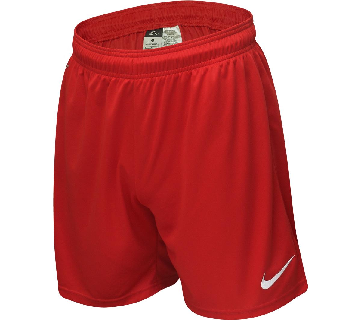 Calção Nike Park Knit Amarelo e Preto - Mundo do Futebol ca7e5b741e681