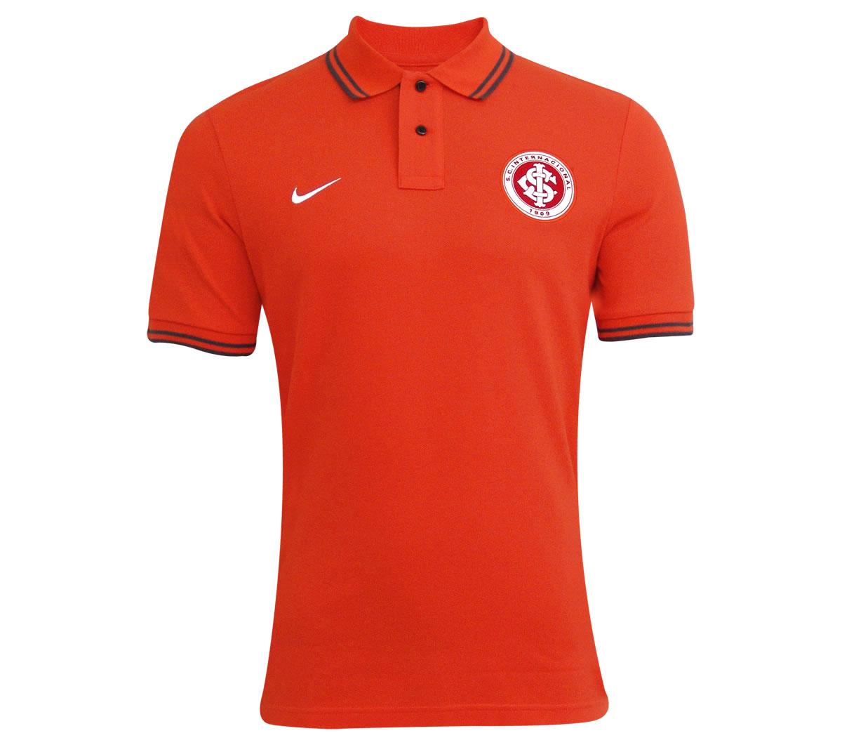 Camisa Internacional Polo Nike Oficial Laranja Camisa Internacional Polo  Nike Oficial Laranja ... 68b6180307202
