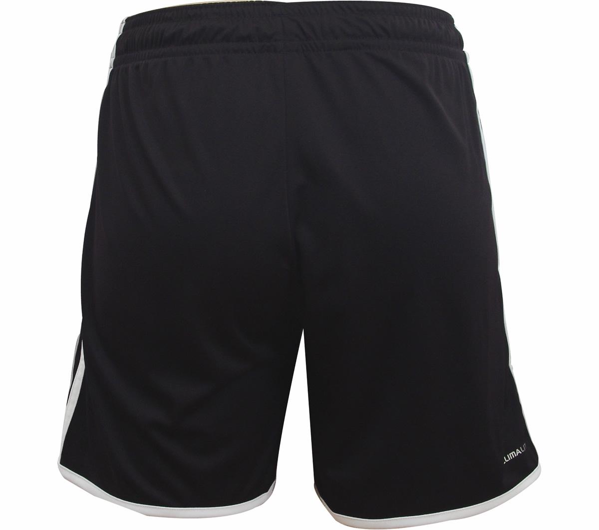 Calção Adidas Entrada 12 Preto e Branco - Mundo do Futebol a06f3ce534418