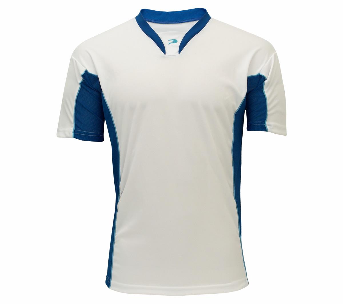 102362a8db Camisa Goleiro Placar Tamoio Branca e Azul - Mundo do Futebol