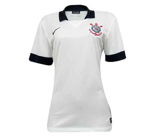 Camisa Corinthians I Nike Oficial 2013 Feminina - Mundo do Futebol 7f7683c3d17d8