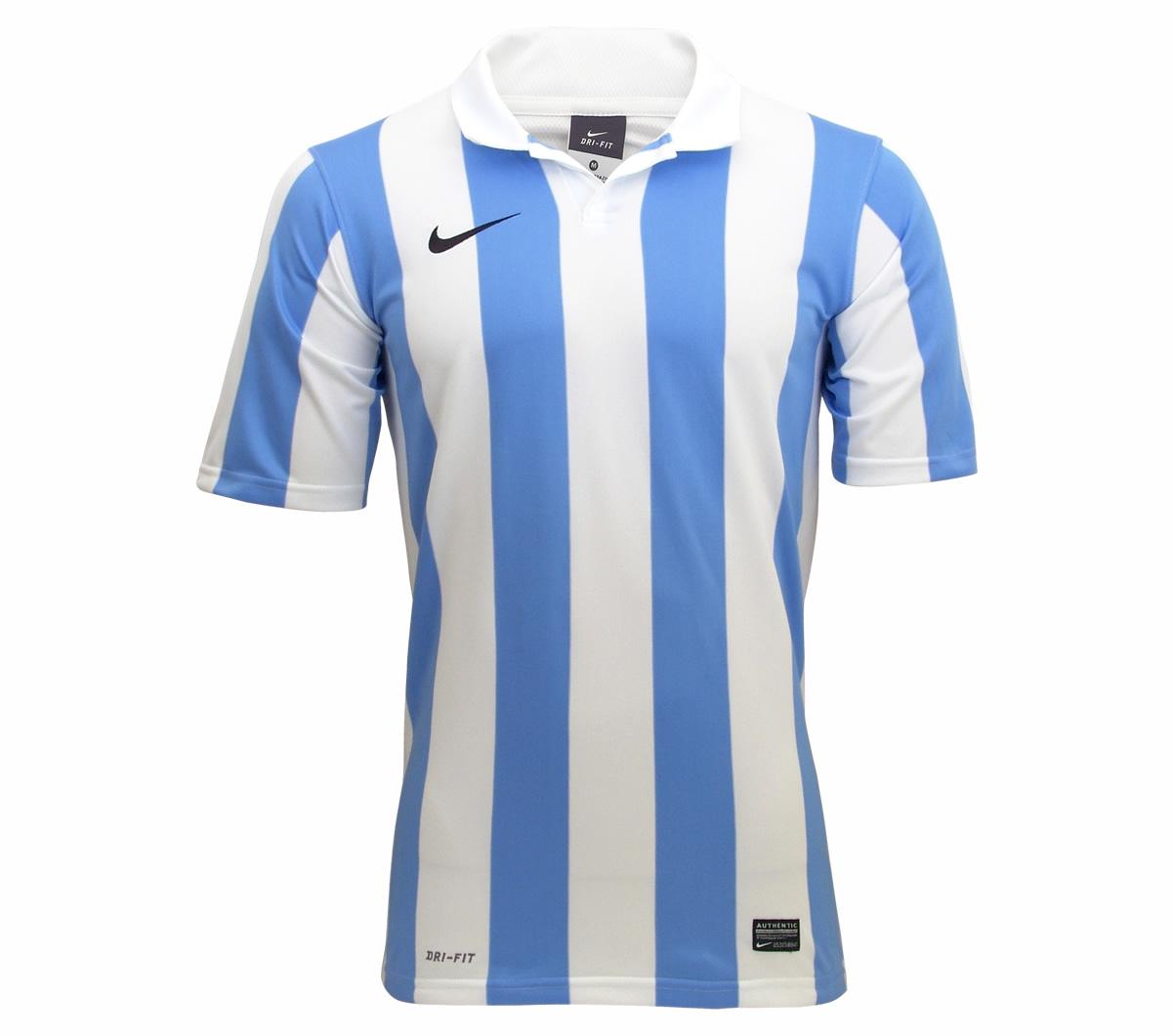 06e3b8bc8e504 Camisa Nike Inter III Stripe Branca e Celeste - Mundo do Futebol