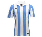 Camisa Nike Inter III Stripe Branca e Celeste