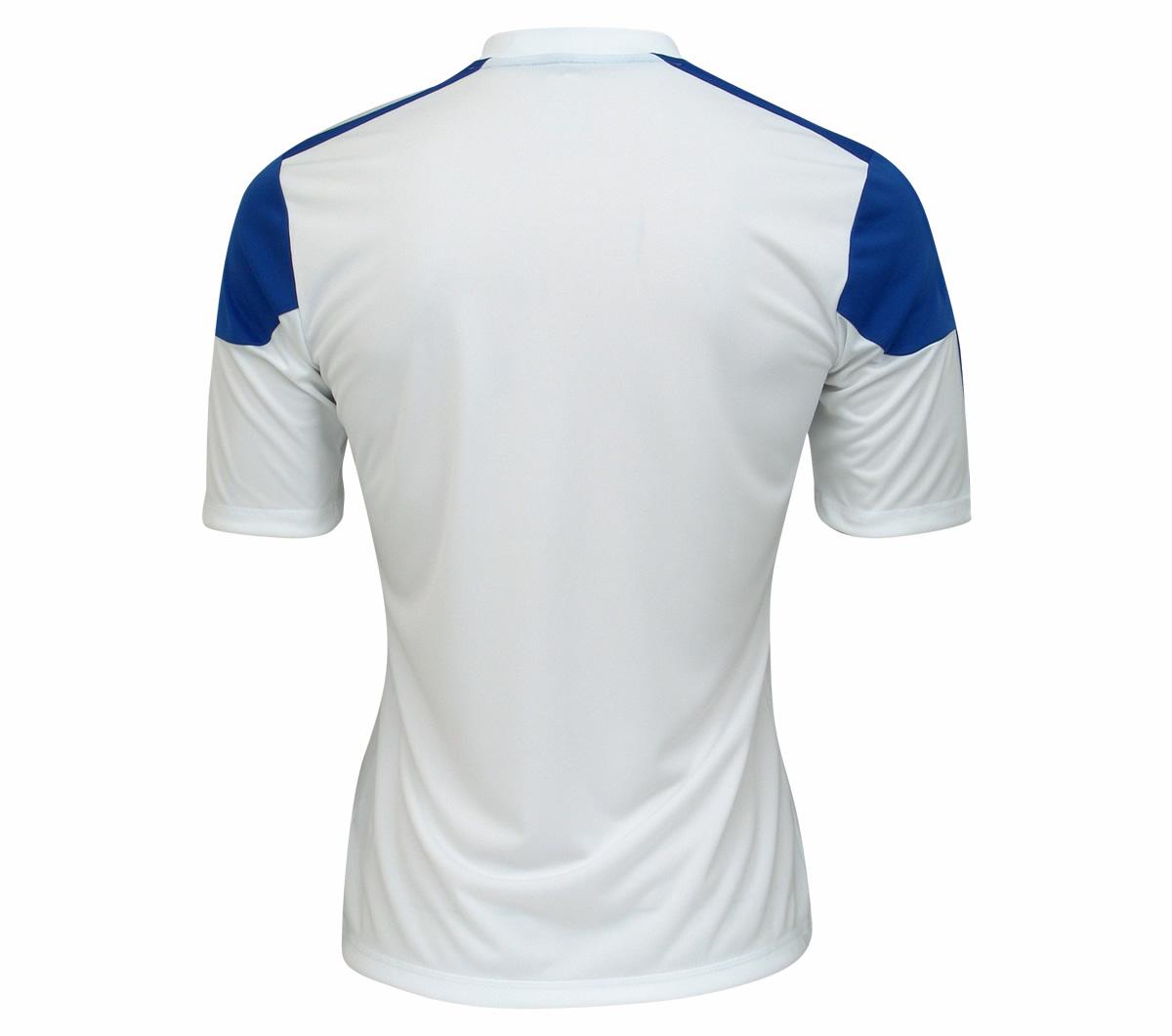 d4432540d7dac Camisa Adidas Autheno 12 Branca e Azul - Mundo do Futebol