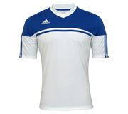 Camisa Adidas Autheno 12 Branca e Azul