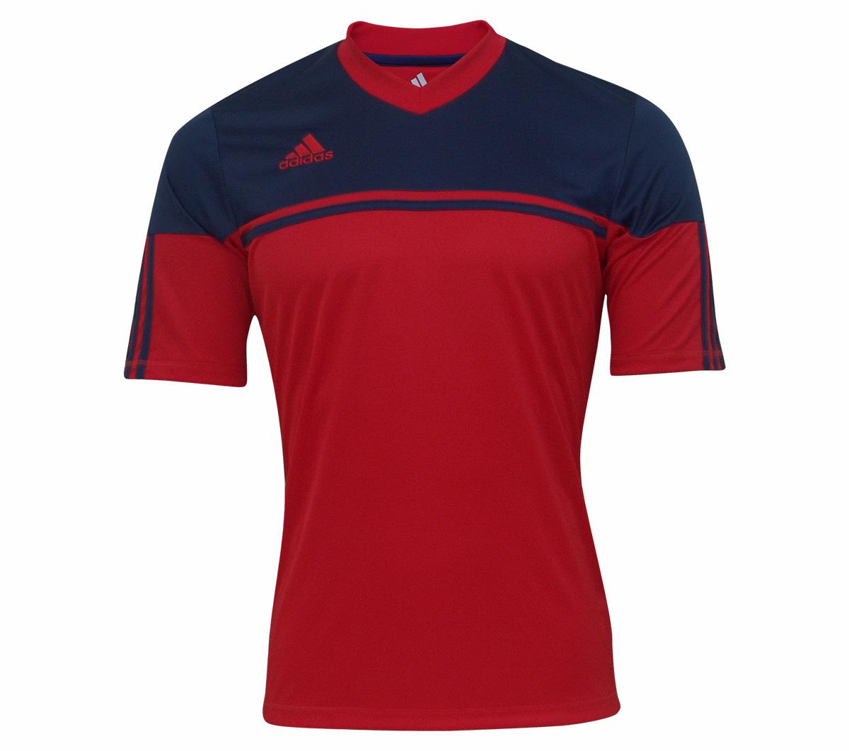 Camisa Adidas Autheno 12 Vermelha e Marinho