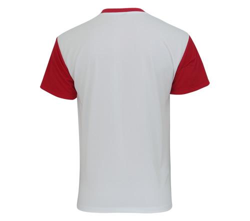 Camisa Super Bolla Pop Lisa Branca e Vermelha