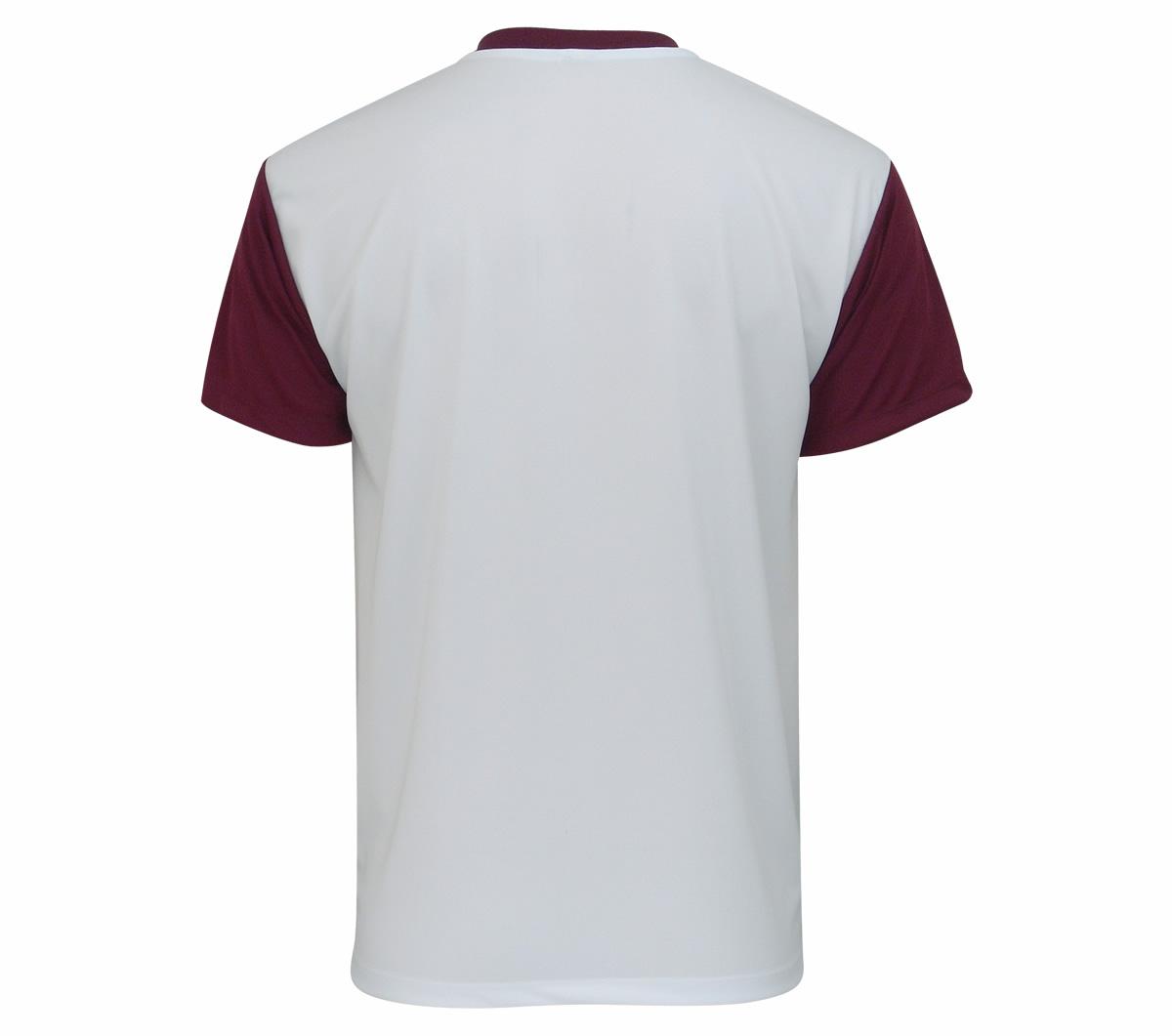 Camisa Super Bolla Pop Lisa Branca e Vinho
