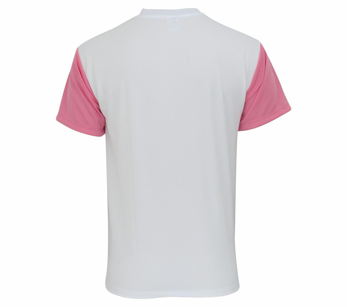 Camisa Super Bolla Pop Lisa Branca e Rosa