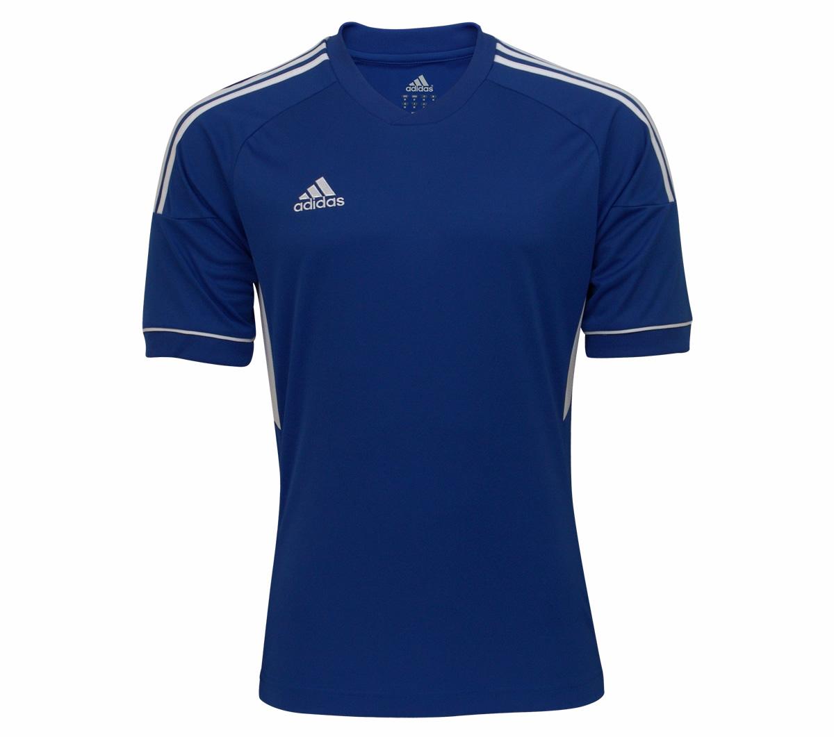 e390e8137b378 Camisa Adidas Regista 12 Azul Camisa Adidas Regista 12 Azul ...