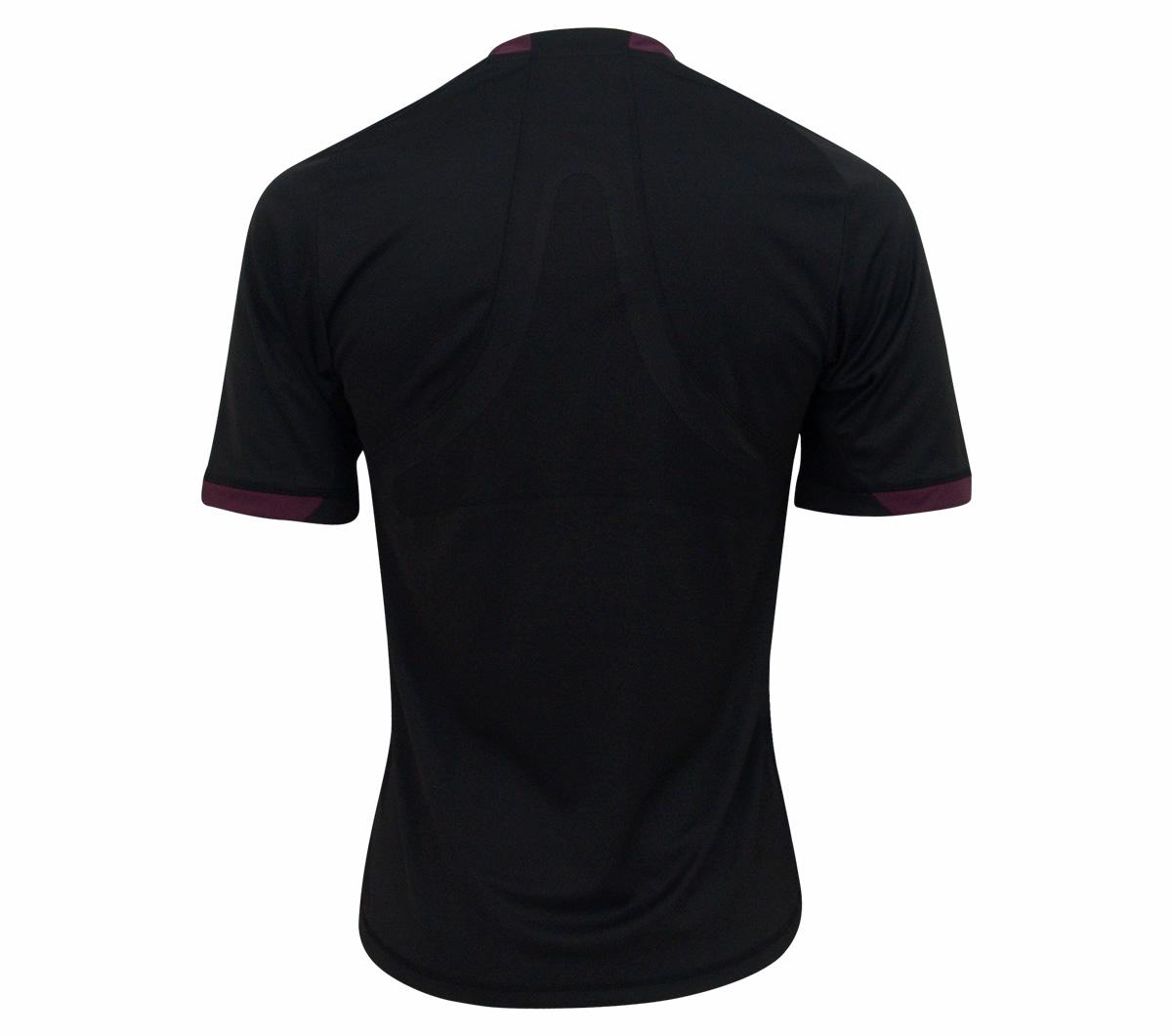 Camisa Árbitro Adidas Preta - Mundo do Futebol 9962bc9db3a95
