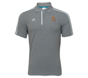Camisa Real Madrid Polo Co Adidas Oficial Cinza