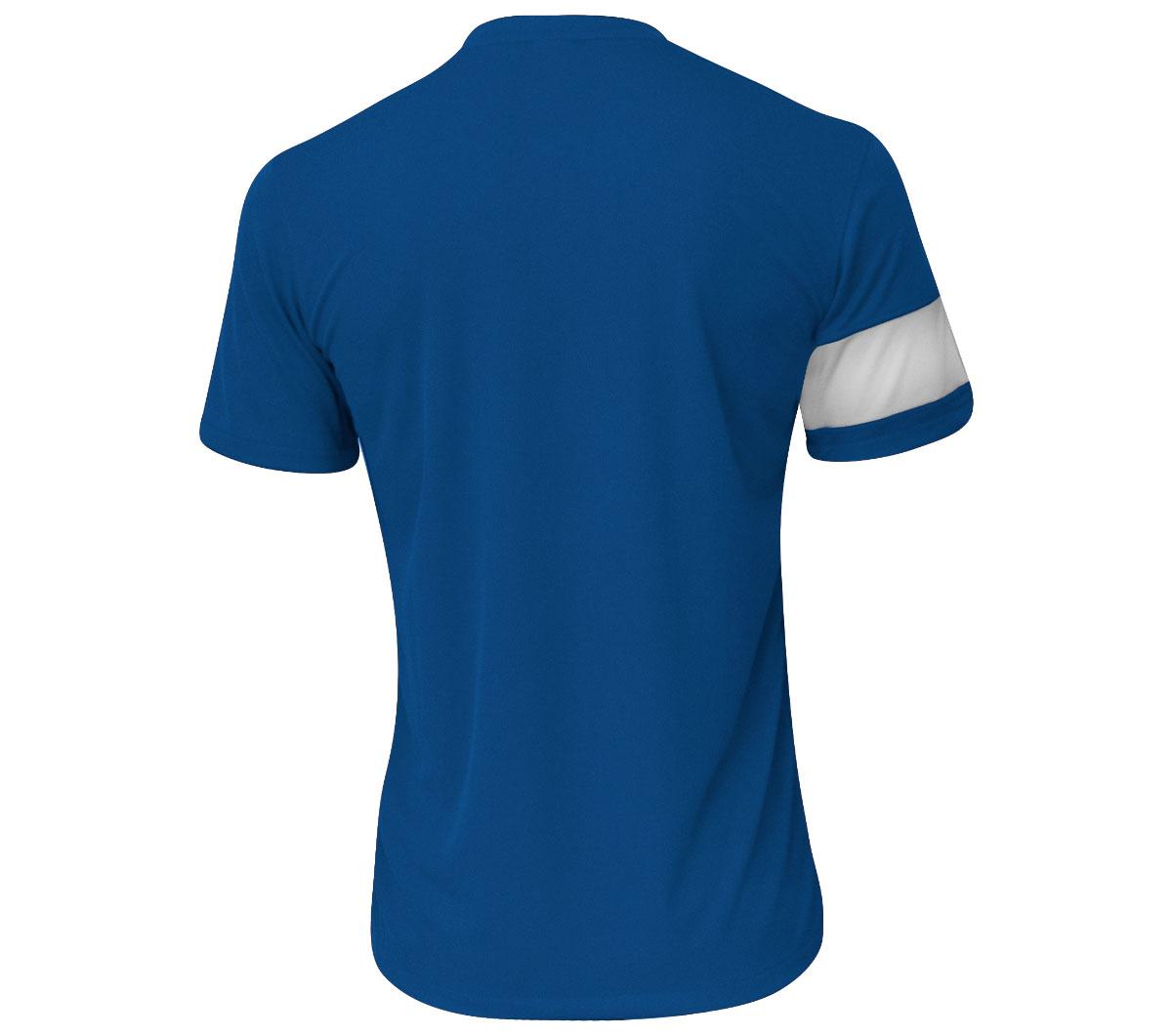 871b615c82 Camisa Nike SS Striker III Azul e Branca - Mundo do Futebol