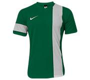Camisa Nike SS Striker III Verde e Branca