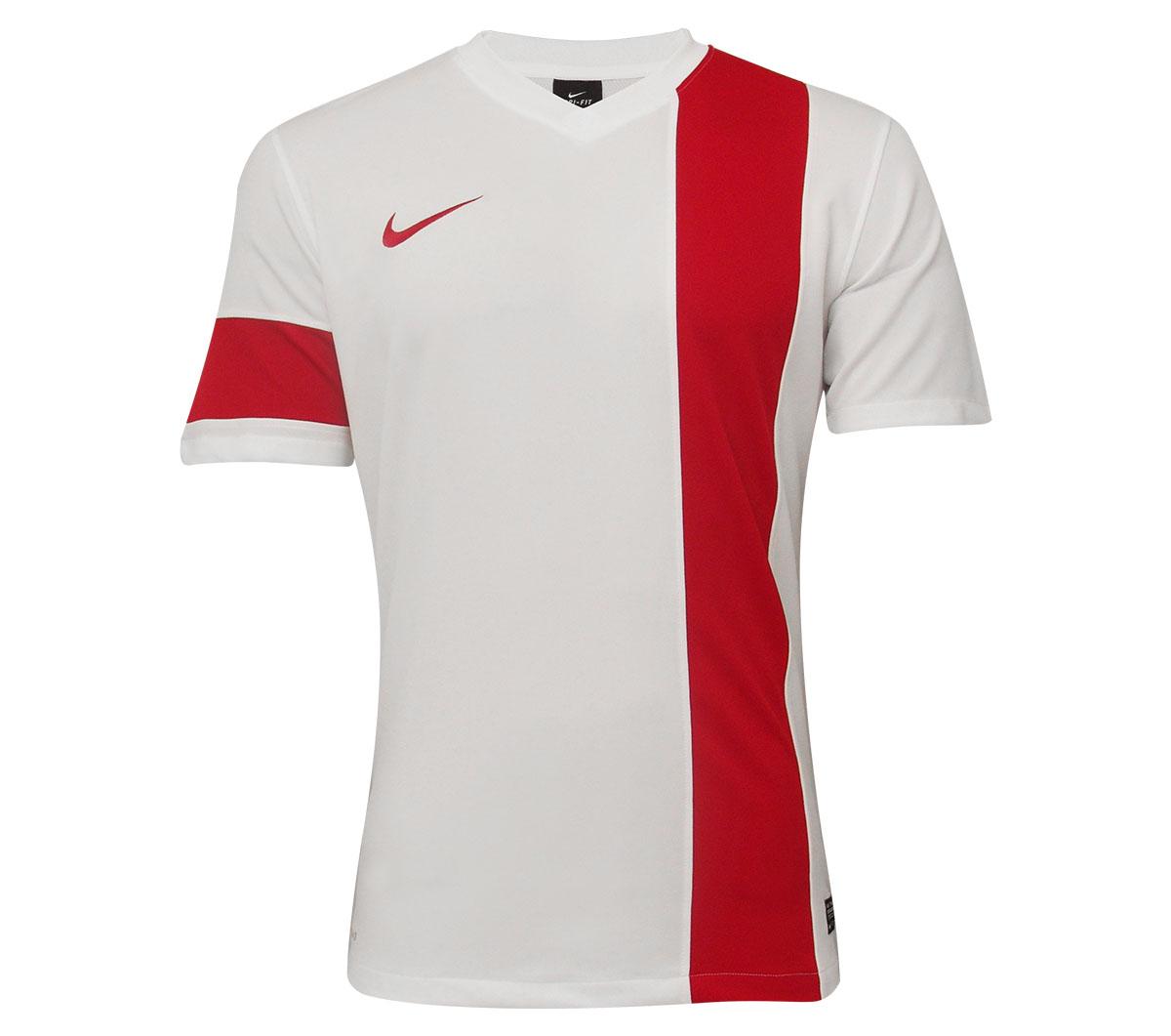 a511d85ed4 Camisa Nike SS Striker III Branca e Vermelha - Mundo do Futebol