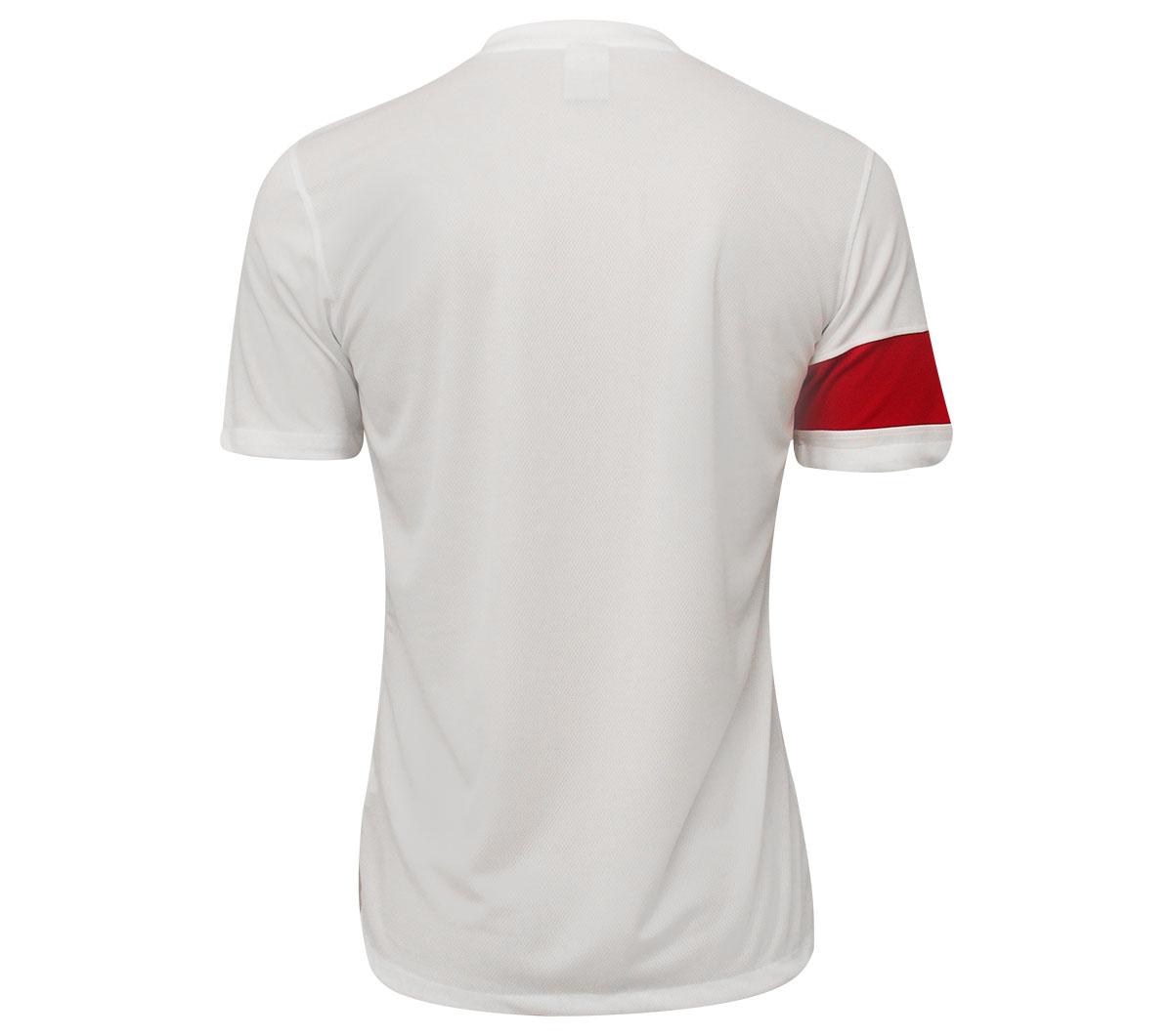 Camisa Nike SS Striker III Branca e Vermelha