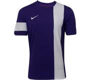 Camisa Nike SS Striker III Roxa e Branca