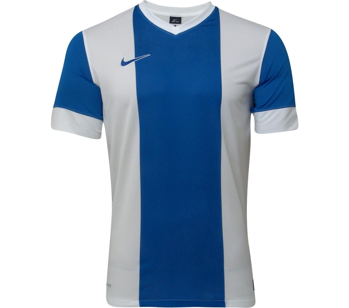 Camisa Nike Energy II Azul e Branca