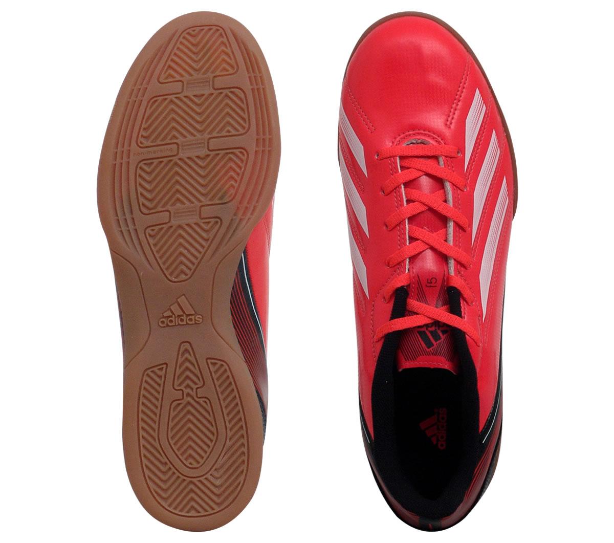 f694115bb0 Tênis Adidas F5 Futsal Laranja Tênis Adidas F5 Futsal Laranja ...