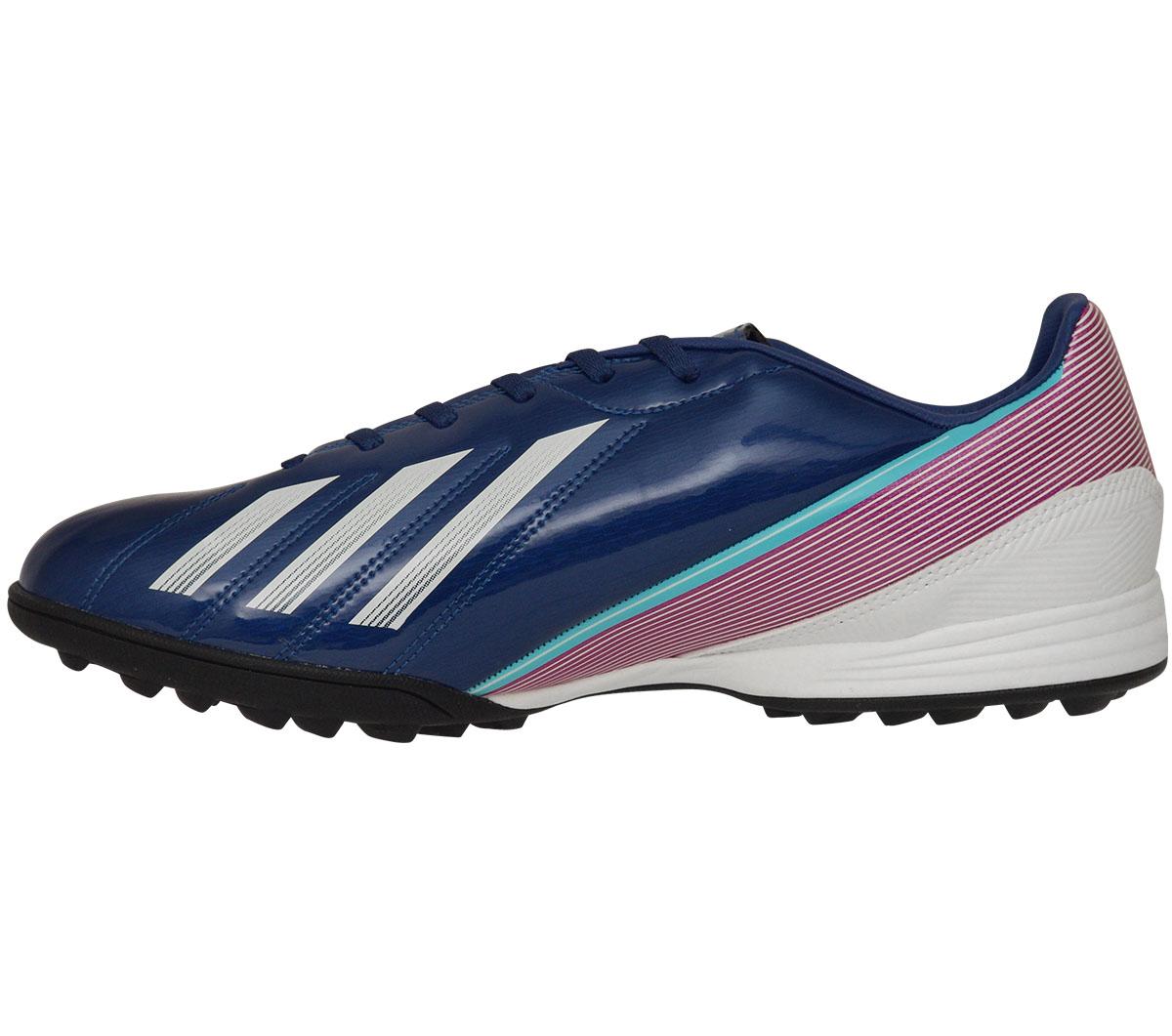 05f8837f2d Chuteira Adidas F10 TRX Society Azul - Mundo do Futebol