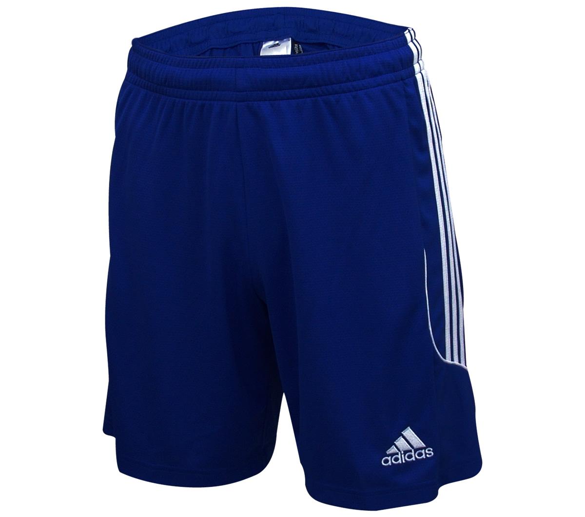 Calção Adidas Squadra 13 Azul e Branco - Mundo do Futebol 0935d4fd14f46