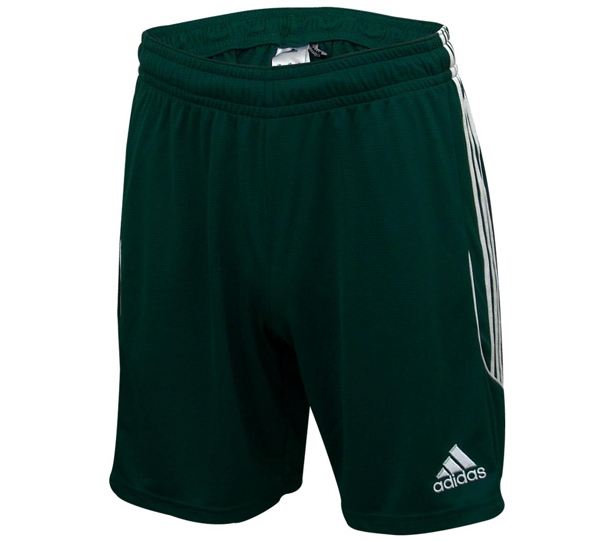 Calção Adidas Squadra 13 Verde Musgo e Branco - Mundo do Futebol b6aae6a4f7700