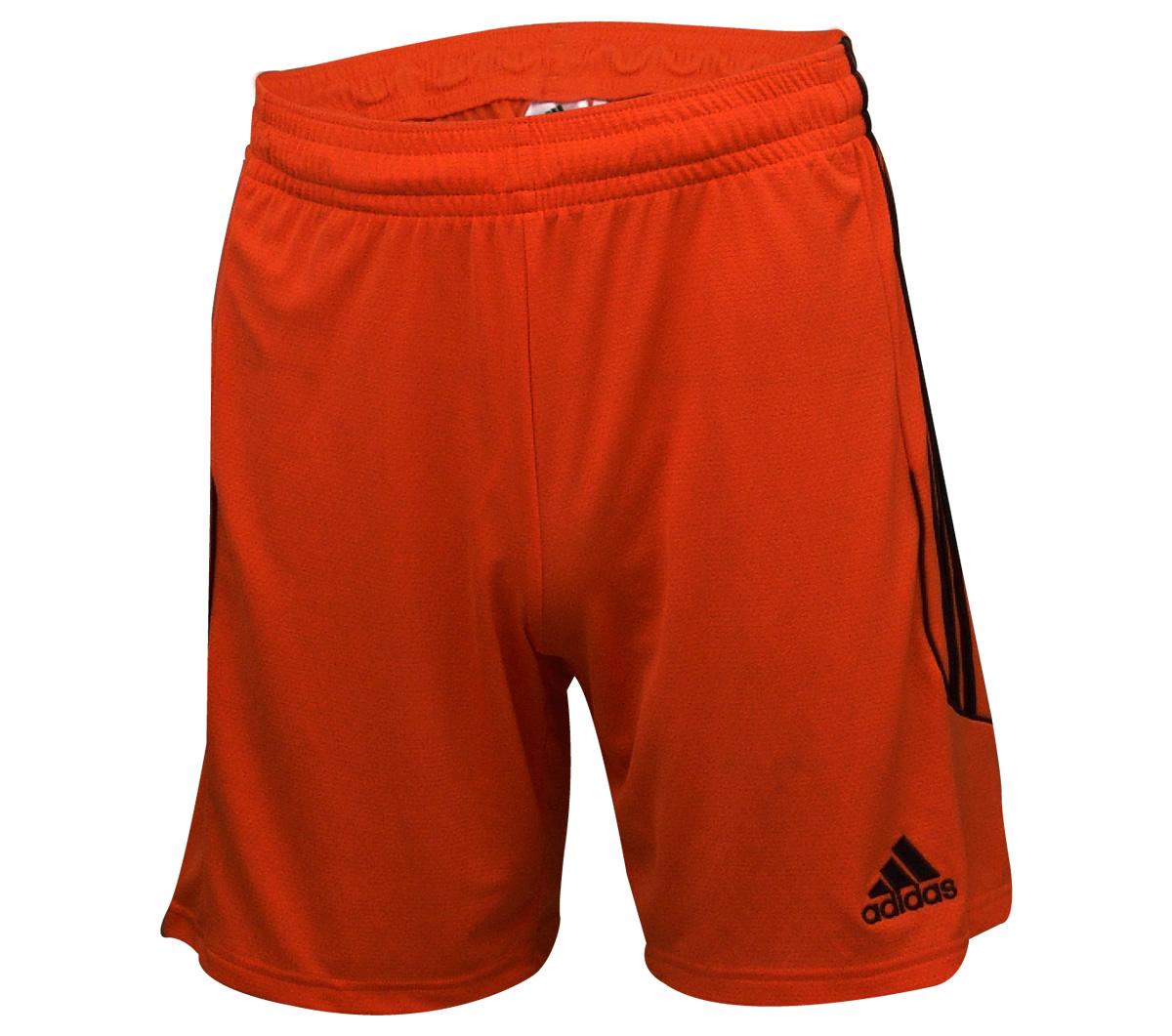Calção Adidas Squadra 13 Laranja e Preto - Mundo do Futebol da0779d4882be