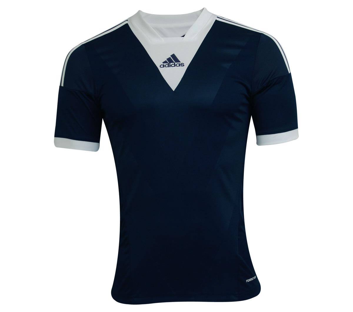 Camisa Adidas Campeon 13 Marinho e Branca