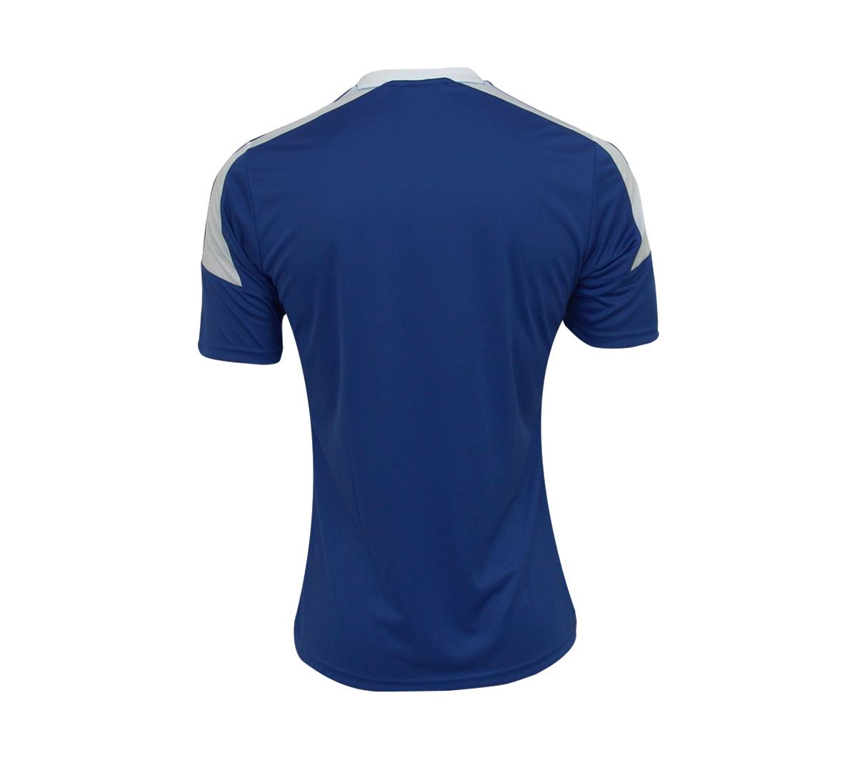13109f60833c7 Camisa Adidas Toque 13 Azul e Branca - Mundo do Futebol