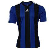 Camisa Adidas Inspired Estro 13 Azul e Preta