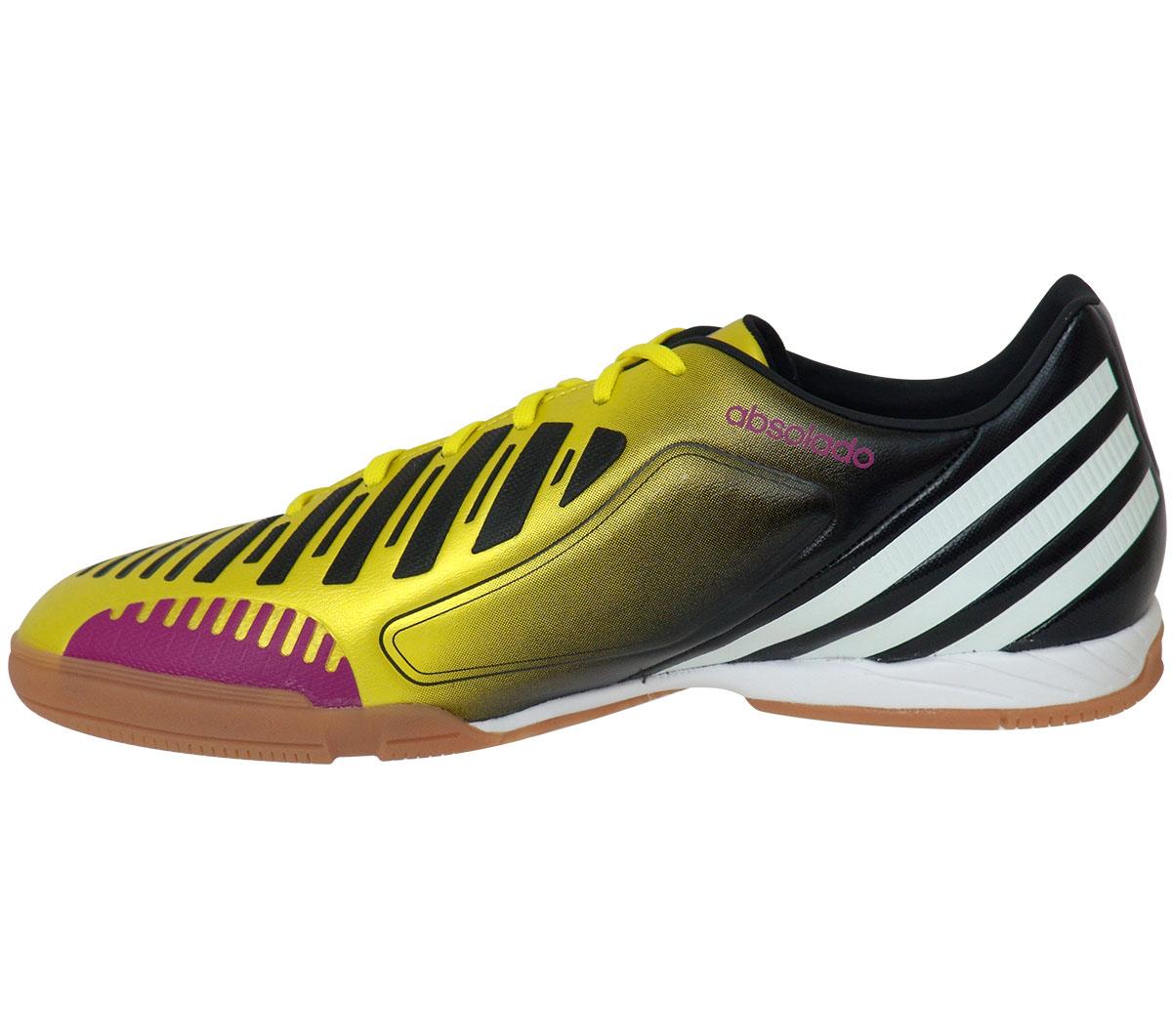 d081bdc764 Tênis Adidas Absolado LZ Futsal Amarelo e Preto - Mundo do Futebol