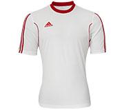 Camisa Adidas Squadra 13 Branca e Vermelha