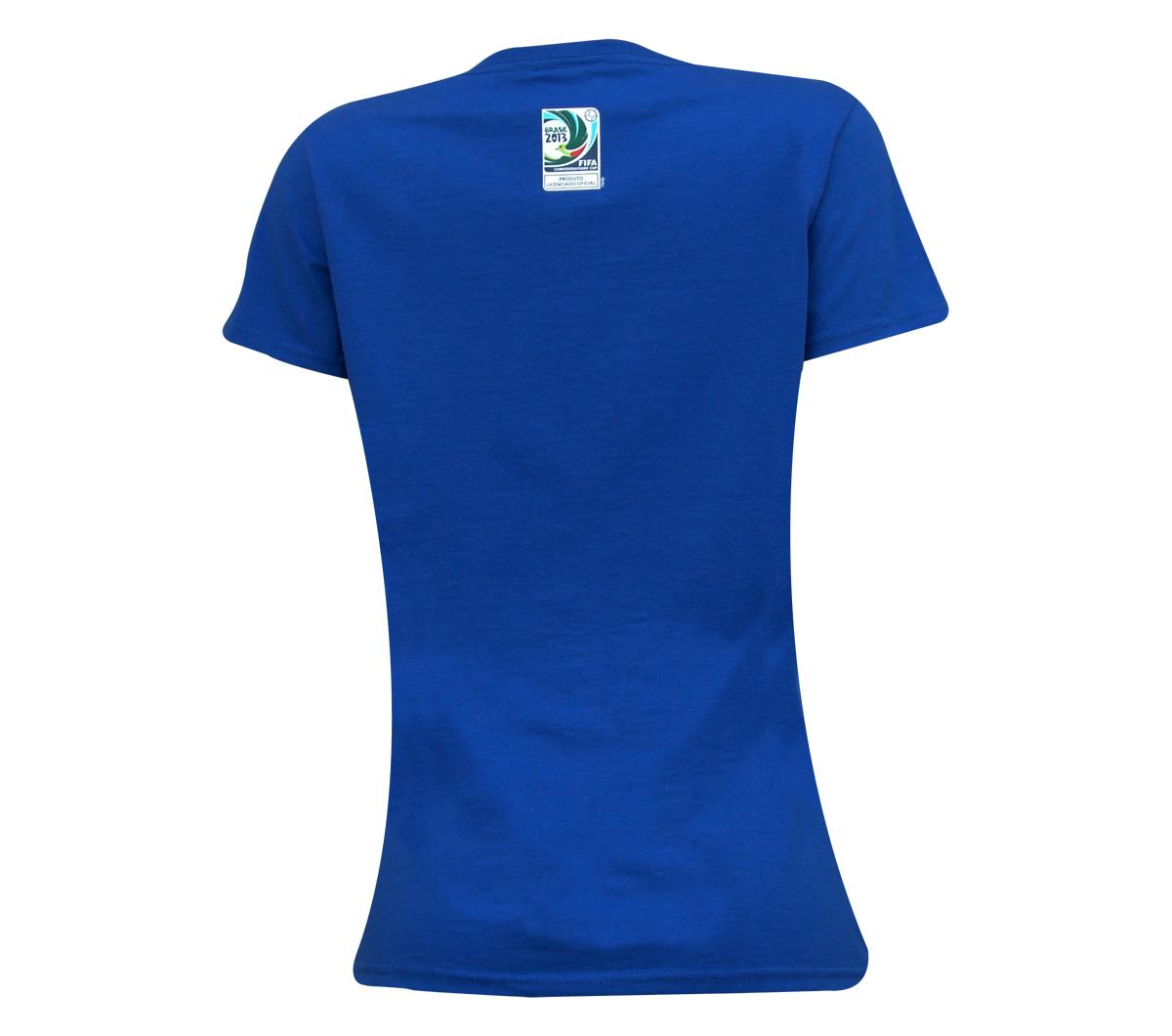 Camisa Copa das Confederações Look Tone Feminina