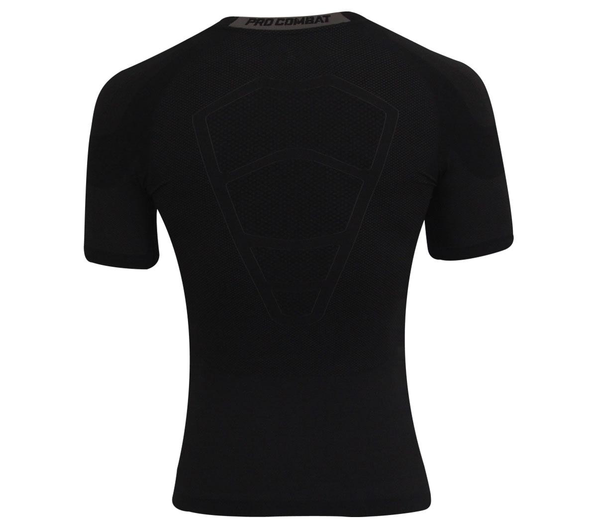Camisa Nike Pro Core Hypercool Manga Curta Preta - Mundo do Futebol 2c789c624826b