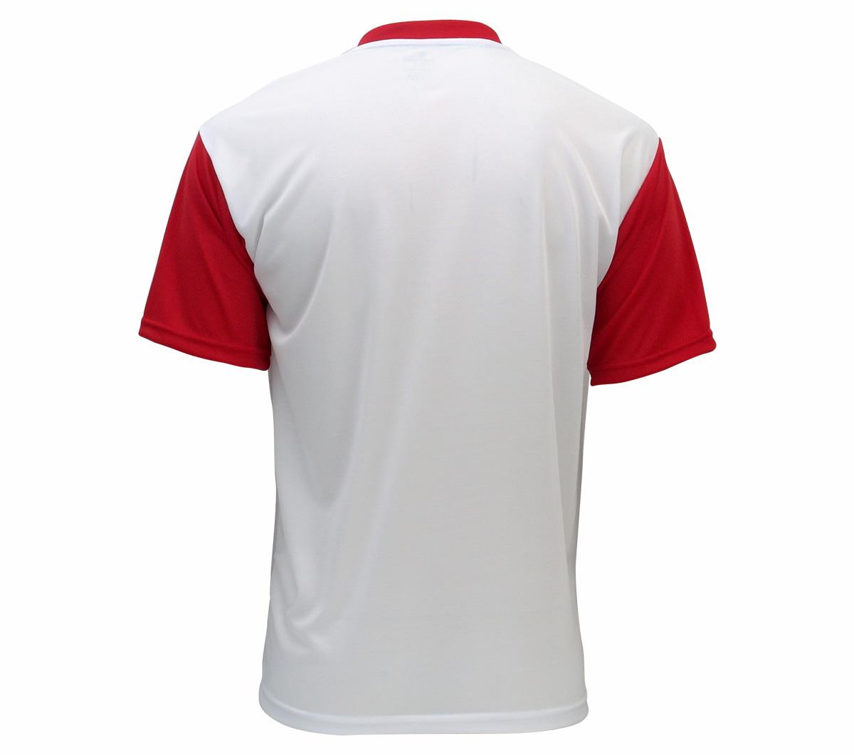 5e00d6559a Camisa Super Bolla Dallas Branca E Vermelha Mundo Do Futebol