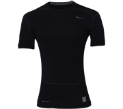 Camisa Nike Core Compress�o SS Top 2.0  Manga Curta Preta