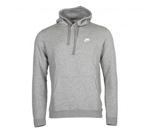 Blusão Nike NSW Hoodie Club Cinza