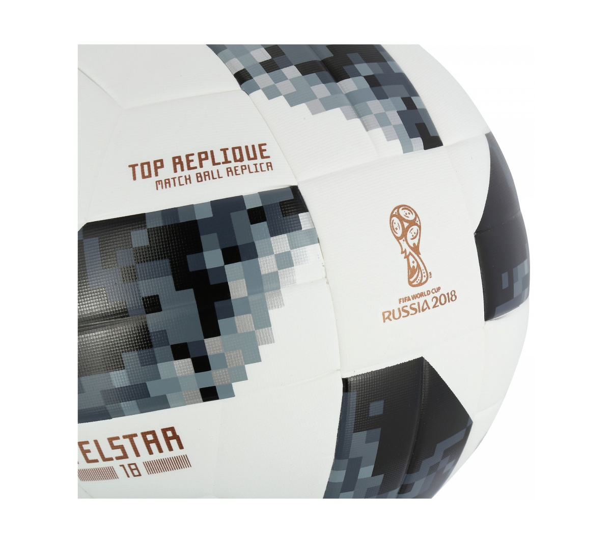 Bola Adidas Telstar Oficial Copa do Mundo FIFA 2018  Top Replique X
