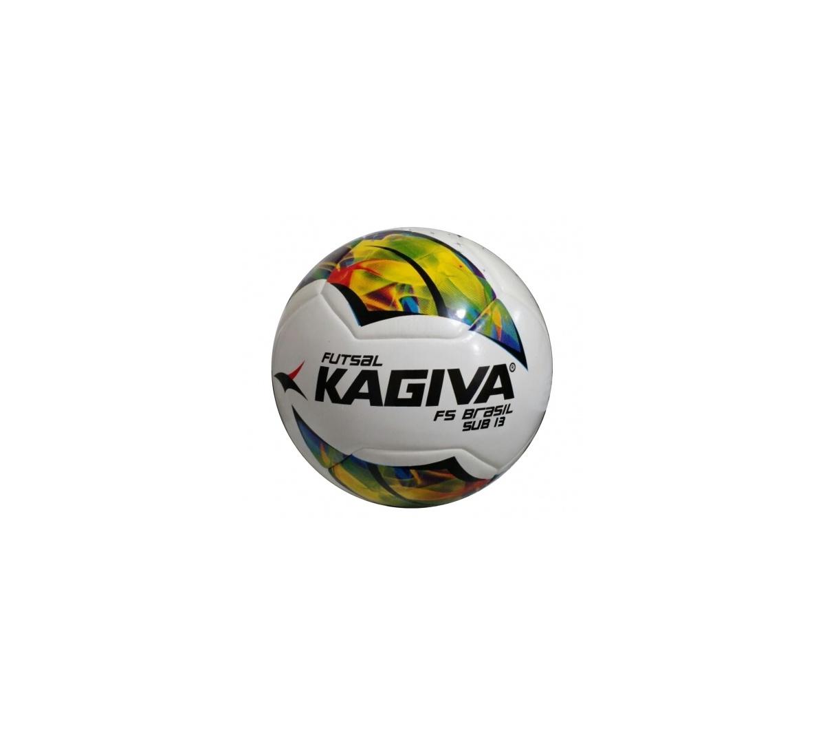 Bola Kagiva Futsal F5 Brasil Pro Sub 13 - Mundo do Futebol 0aef4628a1899