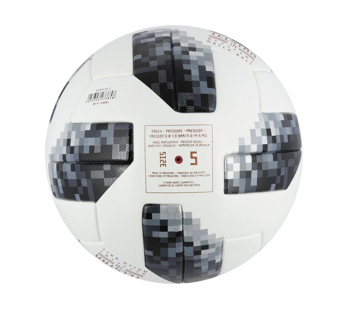 84ce086d03 ... Bola de Futebol de Campo Telstar Oficial Copa do Mundo FIFA 2018 adidas  OMB
