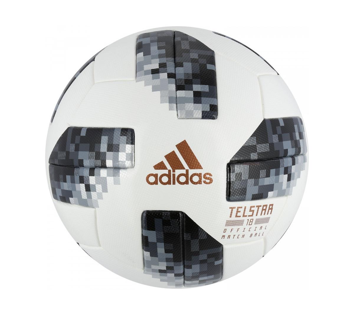 2ad9ed3d4 ... Bola de Futebol de Campo Telstar Oficial Copa do Mundo FIFA 2018 adidas  OMB ...