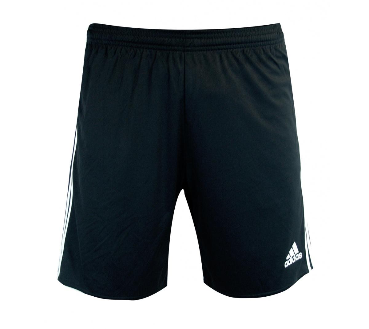 257127e387ead Calção Adidas Regista 14 Preto e Branco - Mundo do Futebol