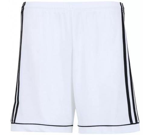 Calção Adidas Squad 17 Branco / Preto