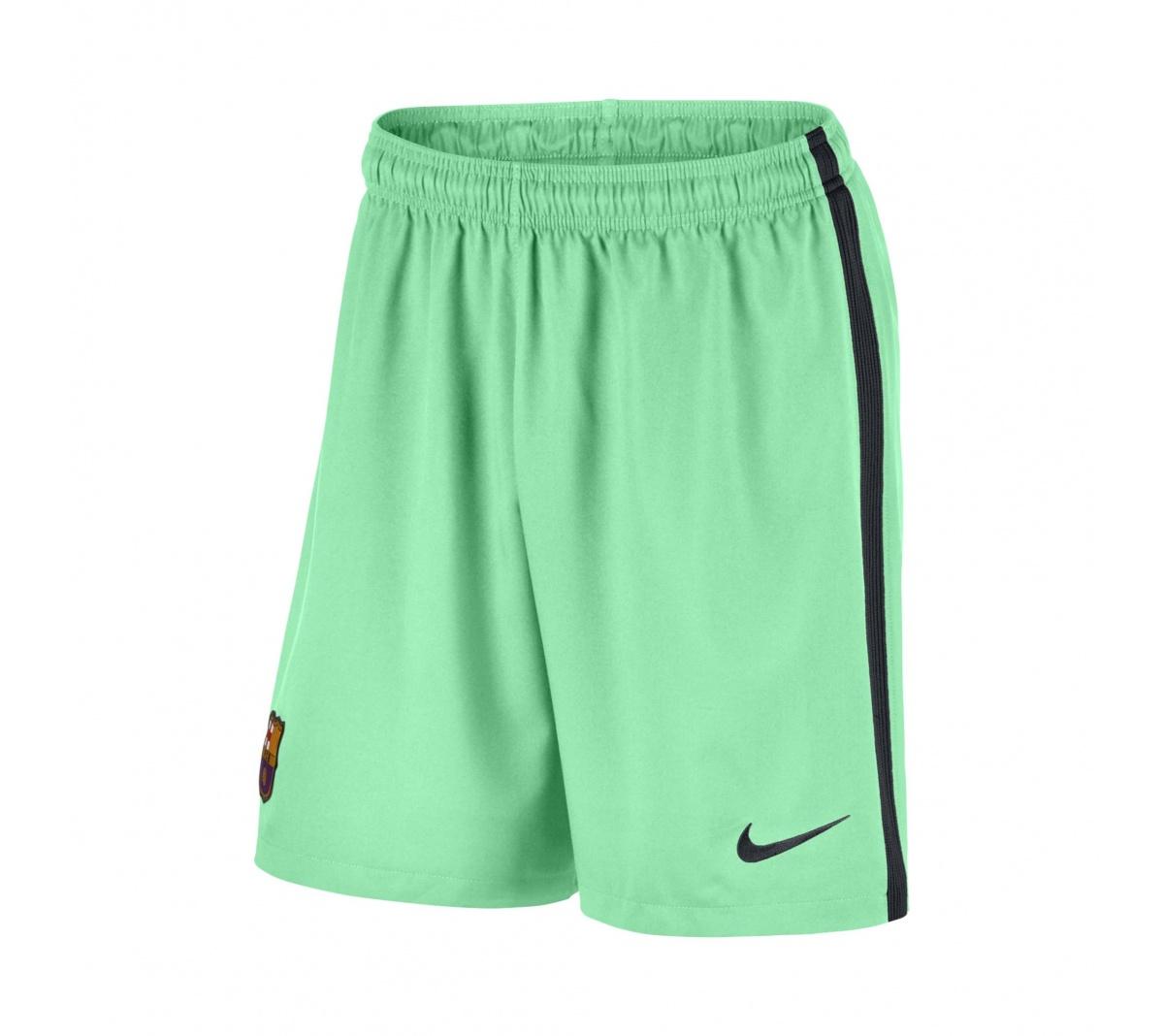 71f3ada9c7 Calção Nike Barcelona III 2016/17 Adulto - Mundo do Futebol