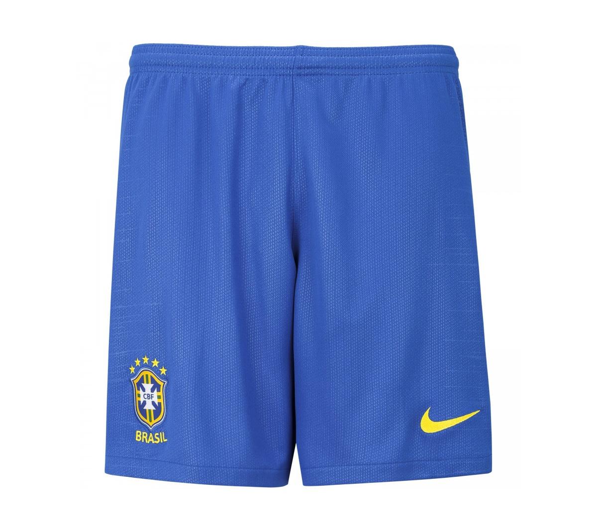 Calção Nike Brasil  I 2018/19 Torcedor Infantil