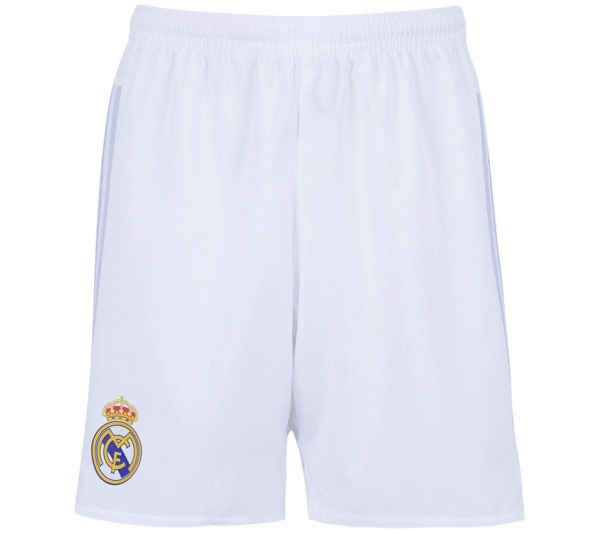 e354a07fdf Calção Real Madrid I Adidas Infantil Oficial - Mundo do Futebol