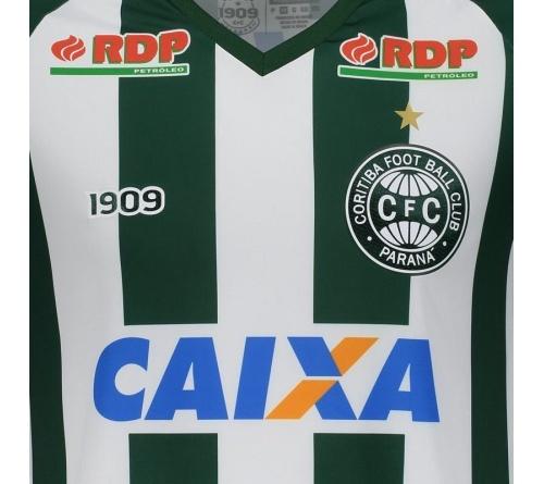 Camisa 1909 Adulta Oficial Jogador Coritiba II 2018/19.