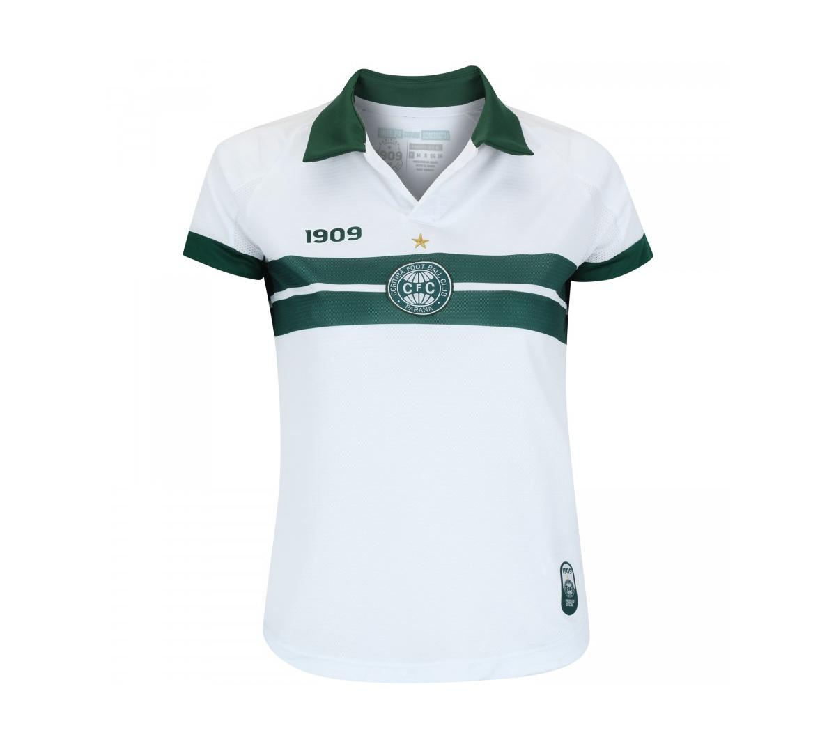 Camisa 1909 Coritiba I Feminina 2018