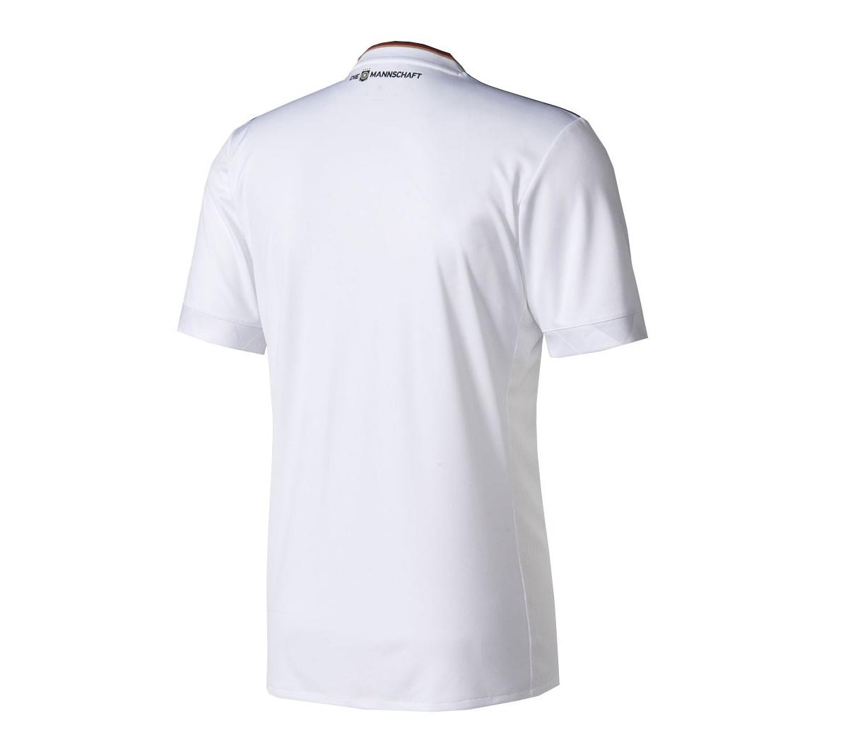 Camisa Adidas Alemanha I Oficial 2017 Infantil