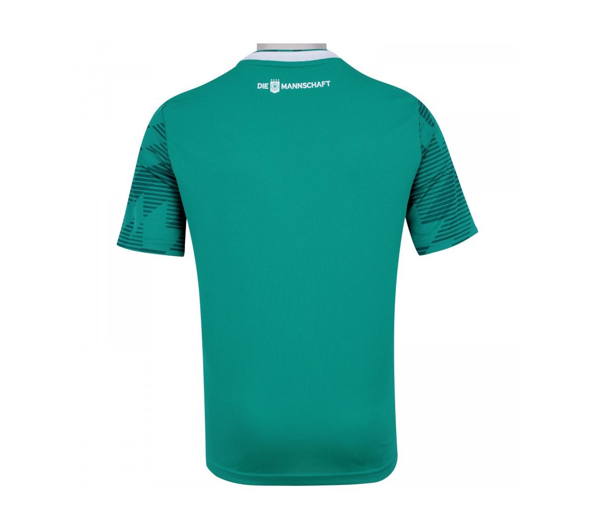 Camisa Adidas Alemanha II Infantil 2018